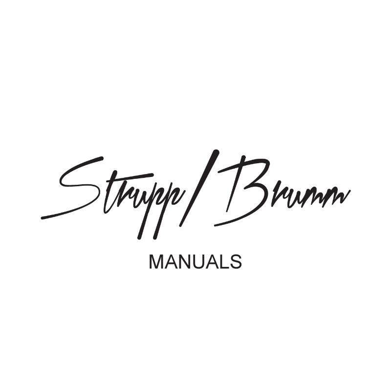 Strupp Brumm Manuals