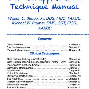 Strupp Brumm Technique Manual
