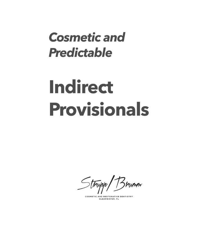 Indirect Provisionals