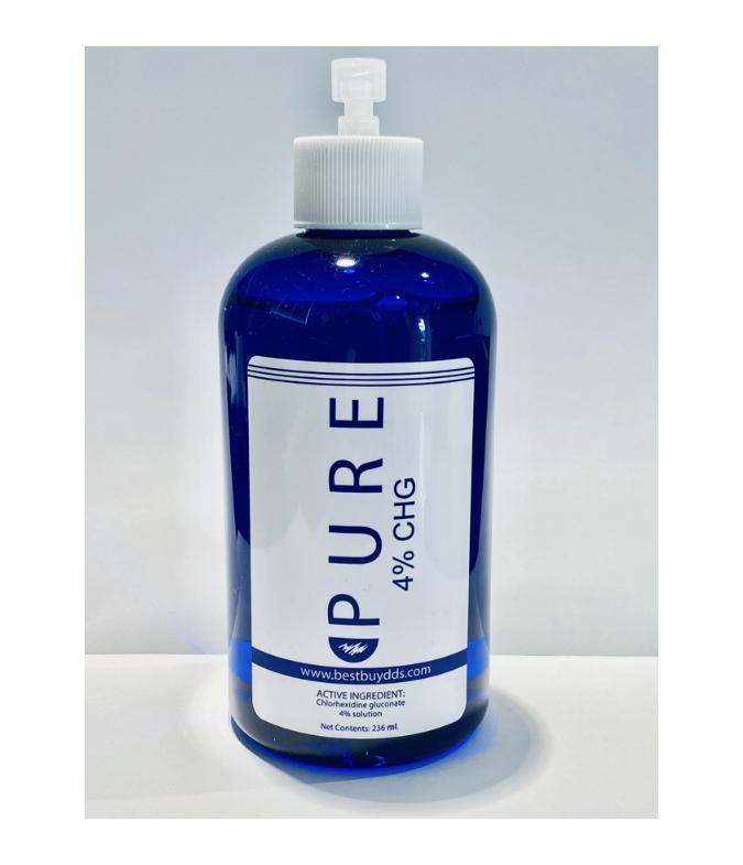 Pure 4% CHG Refill Bottle